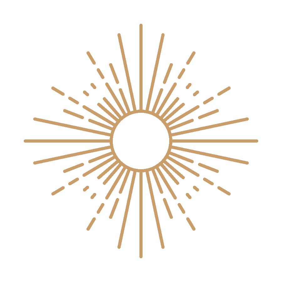Ensofic Ray Healing Modality - Sun Icon